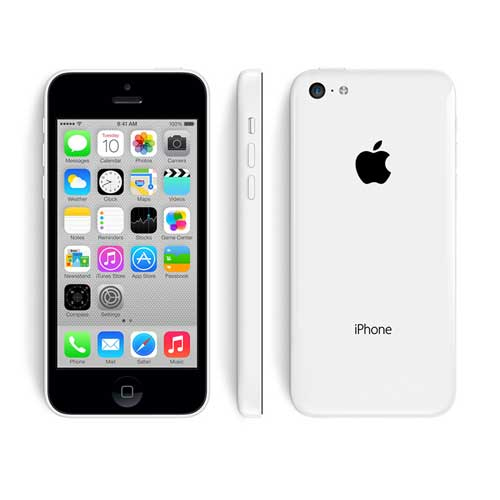 White iPhone 5C