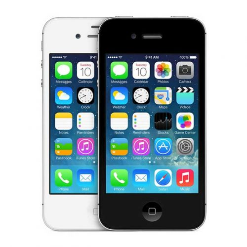 Refurbished iPhone 4S White and Black