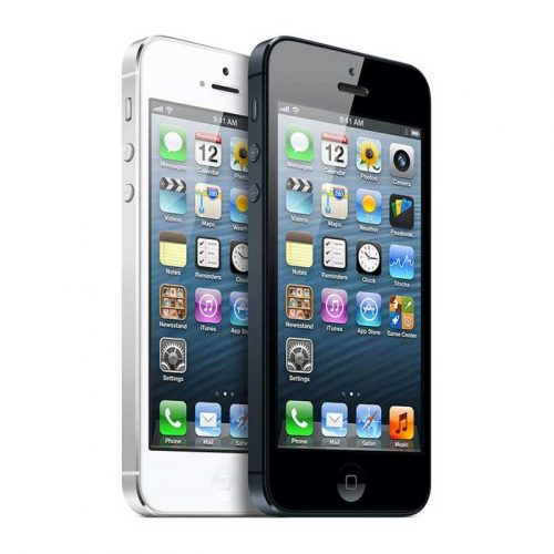 Refurbished iPhone 5 White and Black.