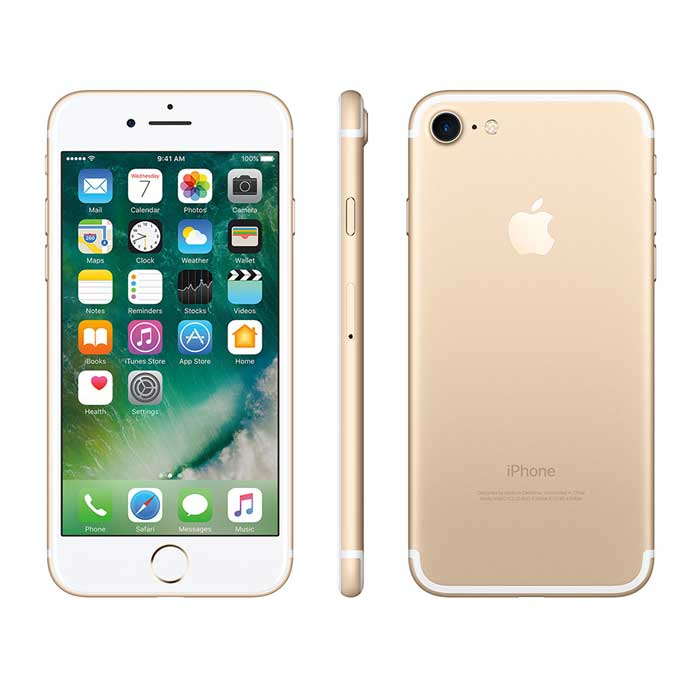 Refurbished iPhone 7 - Gold (2)
