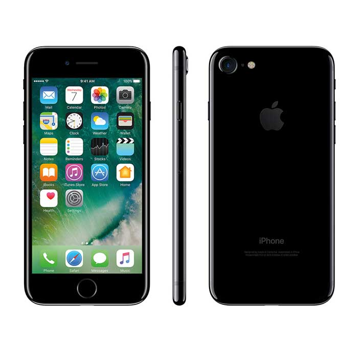 Refurbished iPhone 7 - Jet Black (2)