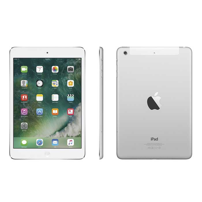 iPad Mini 2 Silver 3 views