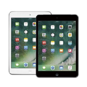 iPad Mini 2 Silver and Space Grey Front