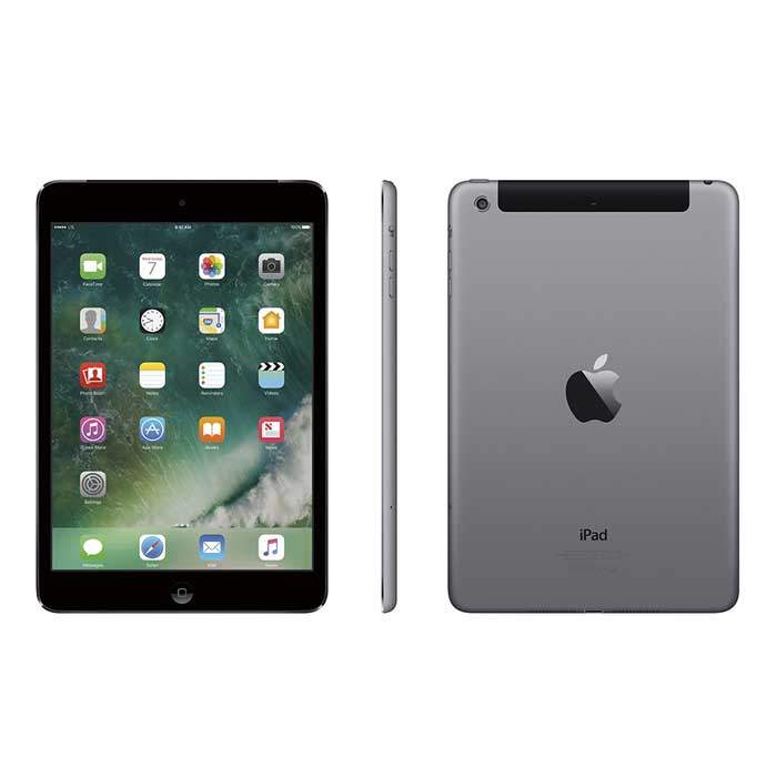 iPad Mini 2 Space Grey 3 views